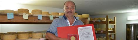 Zlatna medalja za sir obitelji Vidas