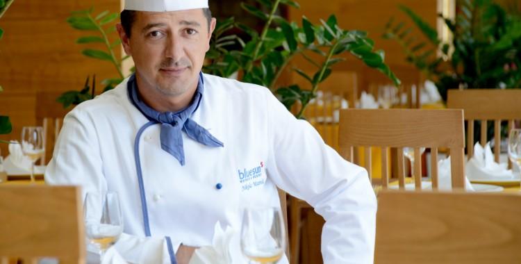 Nikola Marinelić,  šef kuhinje Bluesun hotela Elaphusa