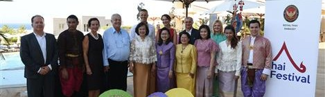 Hotel Kempinski: Tajlandski festival na moru