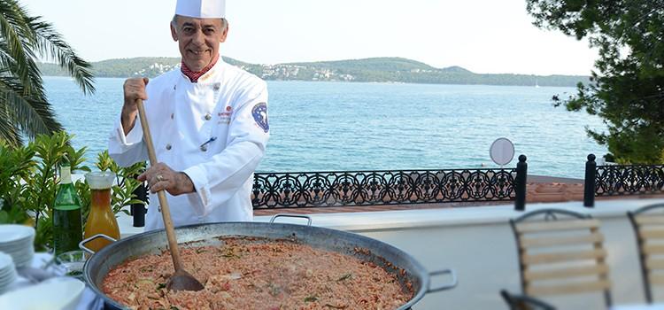 Antun Nišević, chef  kuhinje hotela Jadran, Seget Donji