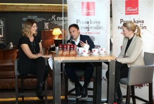 Franck-Antonija Mandić, Kristijan Gregorić i Vesna Mihatov