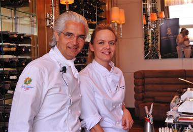Chef Xavier Mathieu i Chef Ana Grgic