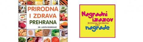 Darujemo knjigu: Prirodna i zdrava prehrana