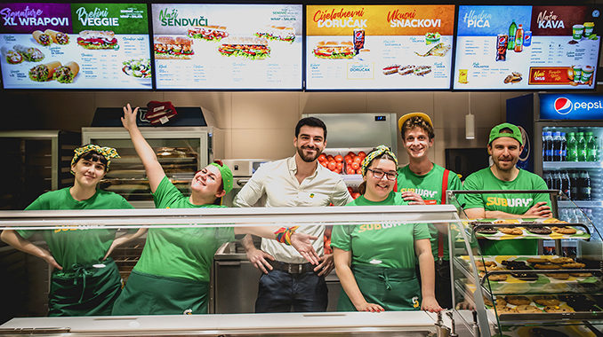 Image result for Subway® otvara svoj drugi restoran u samom centru Zagreba